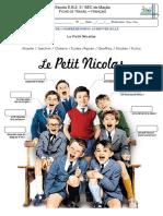 fiche audiovisuelle Le Petit Nicolas