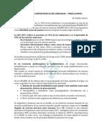 1. RESUMEN - ENFERMEDADES HIPERTENSIVAS DEL EMBARAZO – PREECLAMPSIA