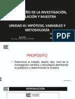 12. UNIDAD III - Metodología, población y muestra - PARTE II