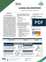 Ficha Técnica Alcohol Multipropósito