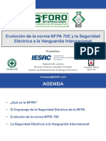 Evolución de la norma NFPA 70E