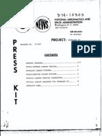 Intelsat IV Press Kit 111474