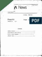 Intelsat IV-A Press Kit 012676