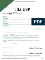 Narrativas sobre diversidade africana não chegam ao Brasil – Jornal da USP