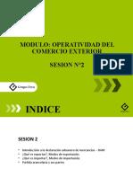 Sesión 2 -  Operatividad de comercio exterior.pptx
