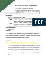 ESQUEMA PARA EL TRABAJO DE ENSAYO ARGUMENTATIV1