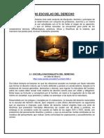 3.  ESCUELAS DEL DERECHO (1)