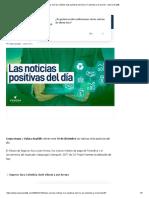 Estas son las noticias más positivas del día en Colombia y el mundo - Valora Analitik