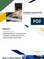 Technical Production ETV