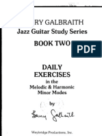 Barry Galbraith Melodic and Harmonic Minor