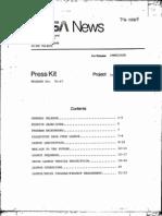 Lageos Press Kit