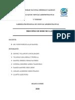 Ejemplos de Los Siete Principios de Derecho Laboral Peru