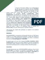 DONACION DE DERECHOS FAMILIA CRUZ