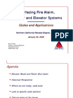 Interfacing Fire Alarm - Elevators
