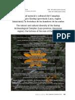 Diversidad Natural y cultural de kuélap