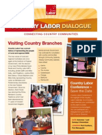 Country Labor Dialogue - First Edition