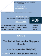 Bank of East Asia n Ong Kim Chuan