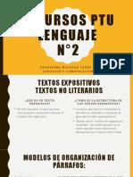 Recursos PTU lenguaje N2