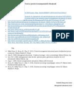 Bibliografie și webografie