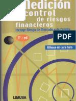 Medicion y Control de Riesgos Financieros - LIBRO DE ALFONSO DE LARA HARO