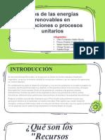 ENERGIAS RENOVABLES  Procesos Industriales.pptx