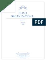 Clima Organizaciónal