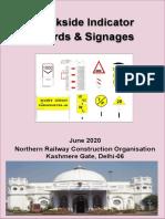 Handbook - Trackside Indicator Boards & Signages