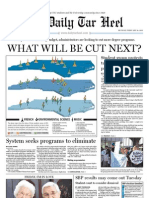 The Daily Tar Heel for February 14, 2011