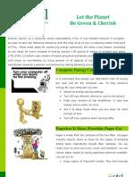 greener IT programme PTCL
