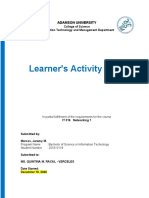 IT 316  Learner's Activity Task  Template 2 (1)
