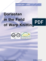 dorlastan in warp knitting