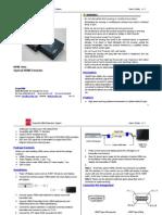 207_HDMI FIBER OPTIC EXTENDER MANUAL