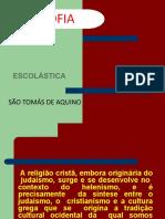 ESCOLASTICA SAO TOMAS DE AQUINO MIRTES