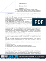 LAW OF TORTS detinations -SEM-1.pdf