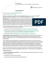 Classification and diagnosis of endometrial hyperplasia - UpToDate