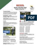 2011 Nickel Heating Open Details