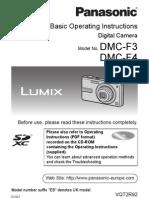 Lumix DMC-F3 manual