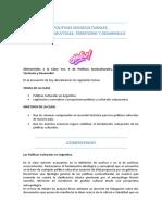 Politicas Socioculturales, Sociop. Te. y Des. CLASE 4