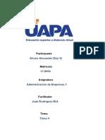 Administración de Empresas 1 tarea 4.docx
