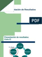 5- PRESENTACION DE RESULTADOS