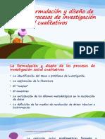 La formulación y diseño de los procesos de