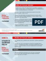 SITUAÇÃO DE CALAMIDADE PÚBLICA - Medidas Excepcionais e Temporárias - 4ª Actualização