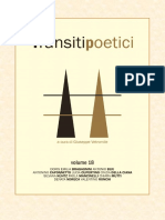 Transiti Poetici Vol XVIII