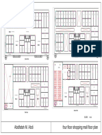 commercial floor plan (4 storey shopping mall)