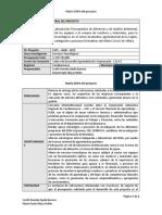 Matriz DOFA del proyecto