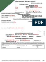 Contrato emisión tarjeta de crédito
