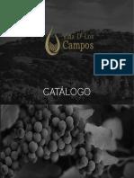 Viña dlos Campos -  catálogo