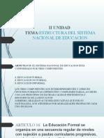 II UNIDAD EDUCACION LEGISLATIVA