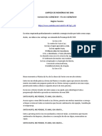 LIMPEZA DE MEMÓRIAS NO DNA - 21 DIAS
