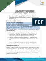 Guia de actividades y Rúbrica de evaluación - Tarea 6 - Explicación sobre la importancia de la profesión y su relación con la industria 4.0